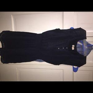 navy blue Hollister dress